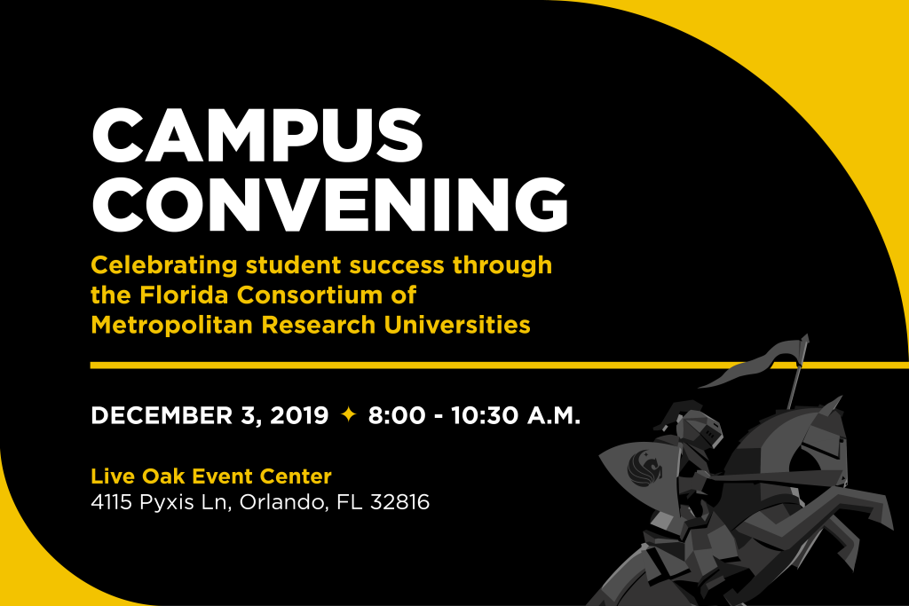 Celebrate the Florida Consortium of Metropolitan Research Universities on Dec. 3