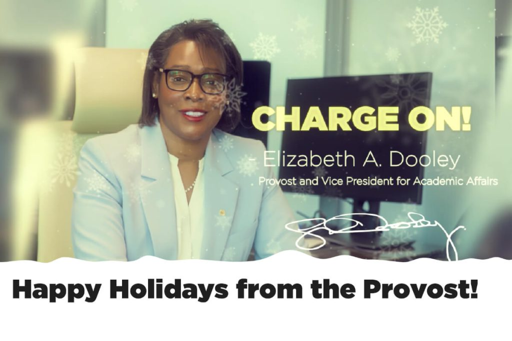 2019 Provost Holiday Message
