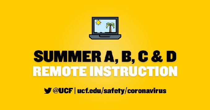 Summer B And Remote Construction Ucf 041020
