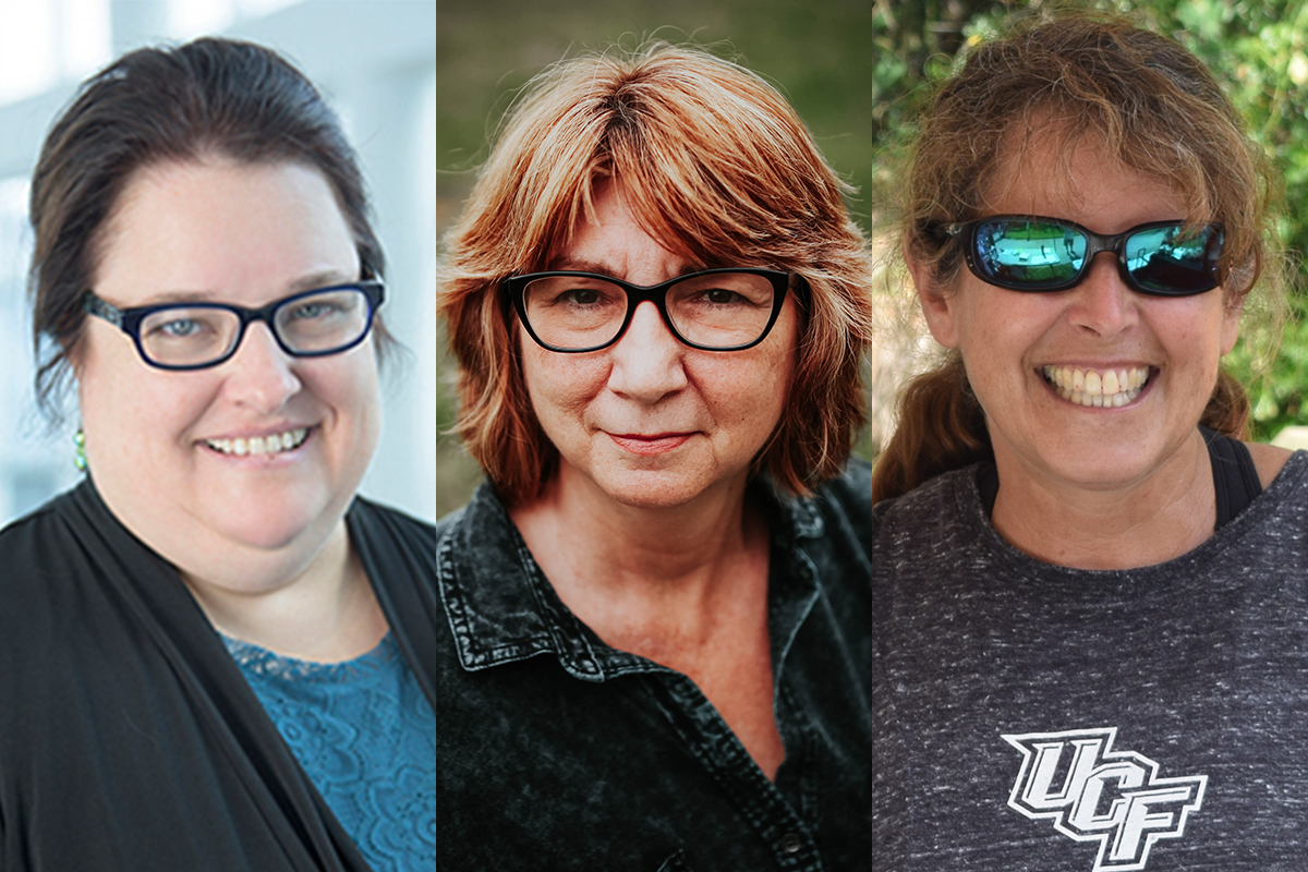 Ucf Life Faculty Awards Trio 2020