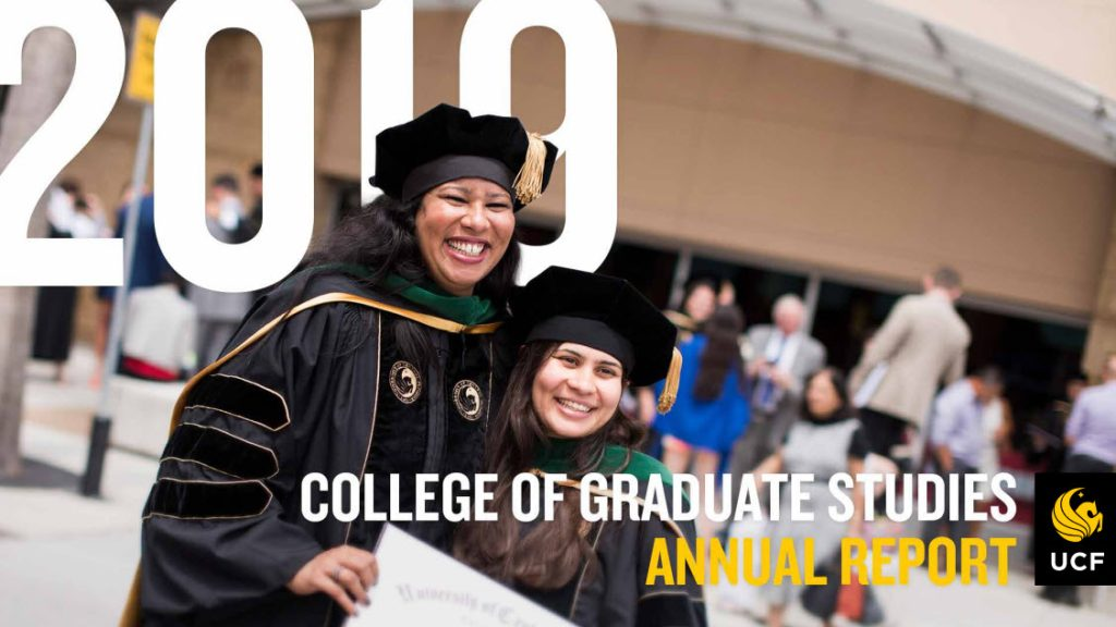 Wwwp20 College Of Graduate Studies Annual Report Cover 2019 20