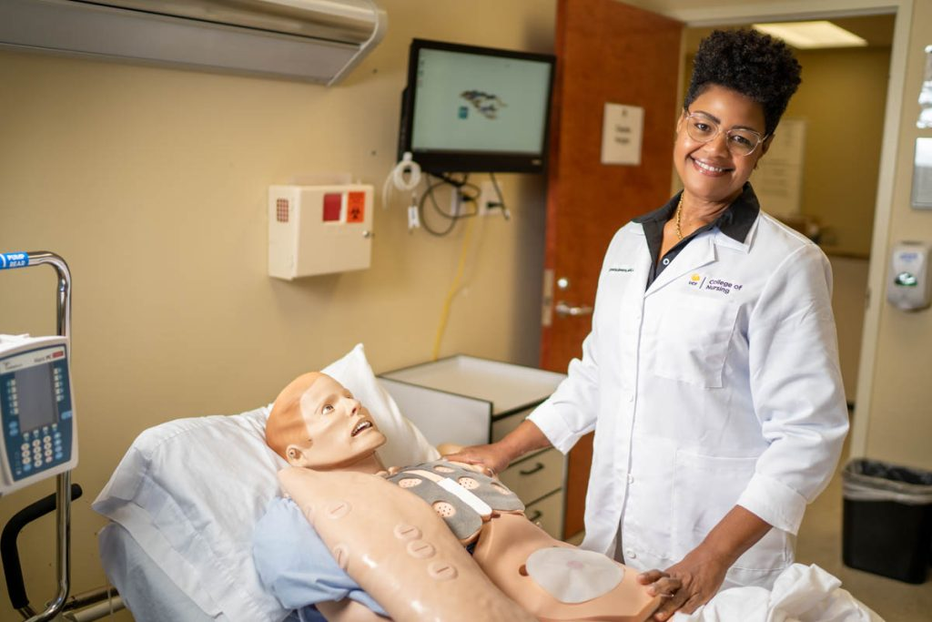 Healthcare Organization Honors Simulation Expert in College of Nursing